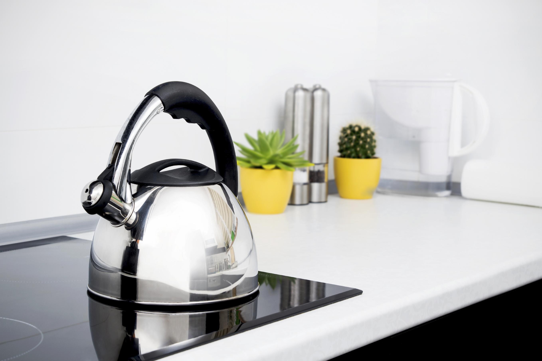 Как очистить чайник от 47